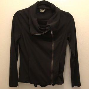 ❤️Maude❤️ Black Slim Zip Jacket